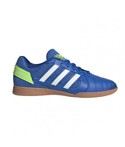 Chaussures de futsal et foot 5 pour enfant Top Sala Bleu ADIDAS