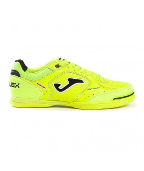 Chaussures de Futsal Jaunes Fluo Top Flex IN Joma