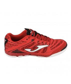 Chaussures pour adultes de Futsal et Foot à 5 rouges Super Regate IC Joma