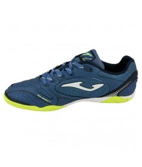 Chaussures pour adultes de Futsal et Footà 5 Dribling 805 bleue IN Joma