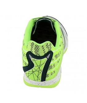 Chaussures pour adultes de Futsal et Foot à 5 blanc et fluo Super Regate IC Joma