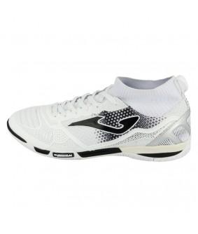 Chaussures pour adultes de Futsal et de Foot à 5 Tactico blanches JOMA