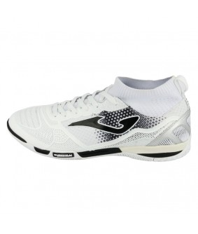 Chaussures de Futsal et de Foot 5 Tactico blanches JOMA