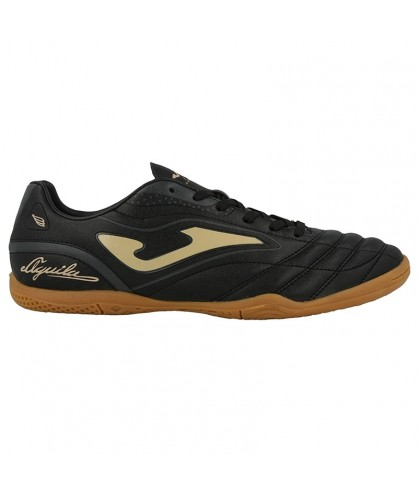 Chaussure de Futsal Aguila 818 Black and Silver IN Joma