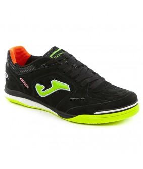Chaussures pour adultes de Futsal et Foot à 5 Top Flex Noires IN Joma