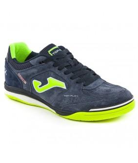 Chaussures pour adultes de Futsal et Foot à 5 Top Flex Bleues IN Joma