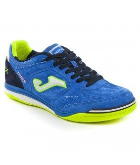 Chaussures de Futsal Top Flex bleues IN Joma