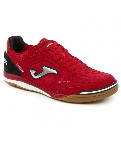 Chaussures de Futsal Top Flex Rouges IN Joma