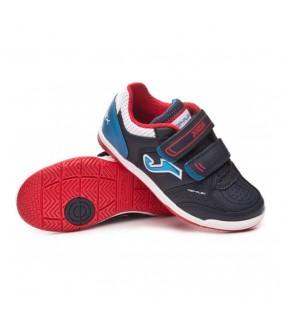Chaussures de Futsal enfant Top Flex Navy IN Joma