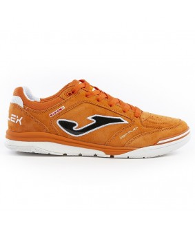 Chaussure de Futsal et de Foot 5 Top Flex Nubuck Orange Joma