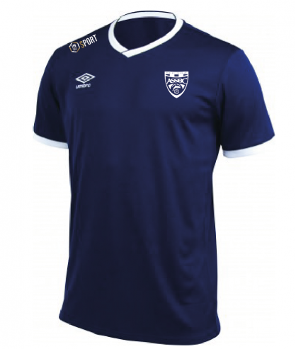 Maillot d entrainement Cup Jersey Marine officiel Umbro AS Saint Brice Courcelles