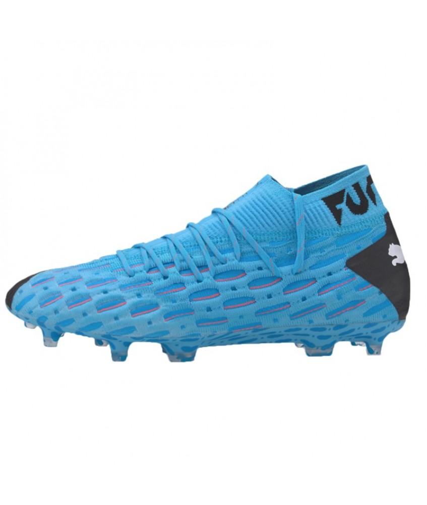 Chaussures de football FUTURE 5.1 Netfit bleue Puma 2019 - FutsalStore