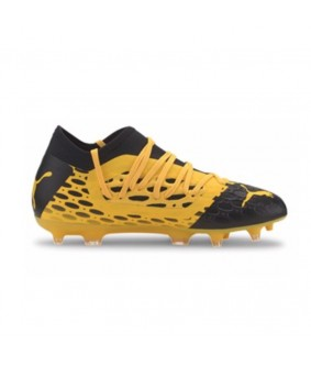 Chaussures à crampons pour enfants de Football FUTURE 5.3 NETFIT JAUNES enfant PUMA
