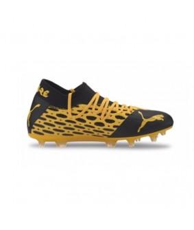Chaussures à crampons pour adultes de football FUTURE 5.2 NETFIT jaune Puma