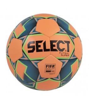 Ballon de Futsal et de Foot5 Orange Bleu Super Select