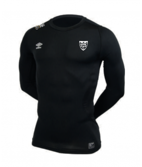 Maillot technique Noir officiel Umbro AS Saint Brice Courcelles