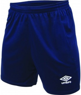 Short d'entrainement Marine officiel Umbro AS Saint Brice Courcelles