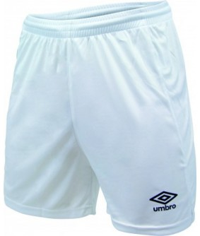 Short d'entrainement Blanc officiel Umbro AS Saint Brice Courcelles
