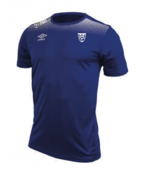Maillot d entrainement Print Jersey Royal officiel Umbro AS Saint Brice Courcelles
