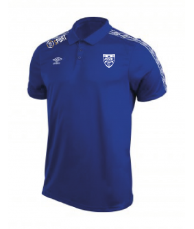 Polo Diamond Royal officiel Umbro AS Saint Brice Courcelles