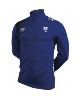 Sweat 1/2 Zip Match Royal officiel Umbro AS Saint Brice Courcelles