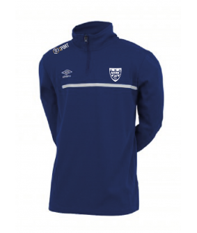 Sweat Femme 1/2 Zip Royal officiel Umbro AS Saint Brice Courcelles
