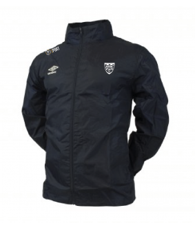 Veste d'entrainement Core Shower Marine officiel Umbro AS Saint Brice Courcelles
