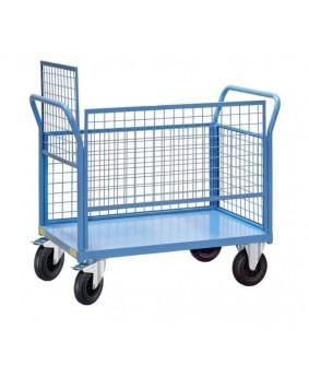 Chariot roulant métallique de rangement de ballons Futsal - EGT SPORTS