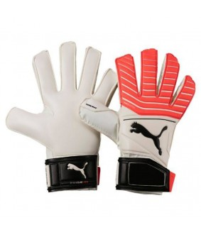 Gants de football blancs One Grip 17.3 RC Puma