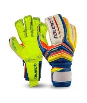 Gants de gardien futsal et football bleu Serathor Supreme G2 Ortho-Tec reusch