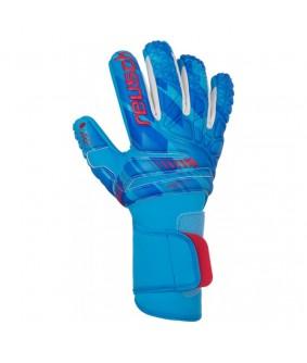 Gants de Football et Futsal bleus Fit Control Pro AX2 Evolution NC Reusch