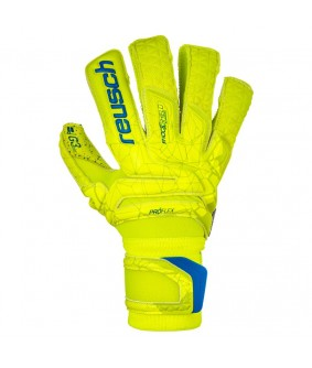 Gants de Football et Futsal jaunes Fit Control Supreme G3 Fusion Reusch