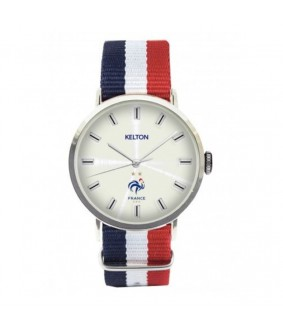 "Montre officielle ""France"" equipe de france de football KELTON"