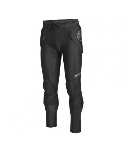 Pantalon Futsal et Foot 5 rembourre CS Femur 3/4 Short Padded Noir Reusch