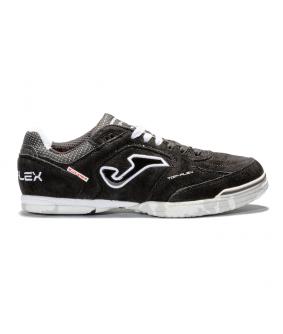 Chaussures pour adultes de Futsal et de Foot à 5 Top Flex Nubuck noir Joma