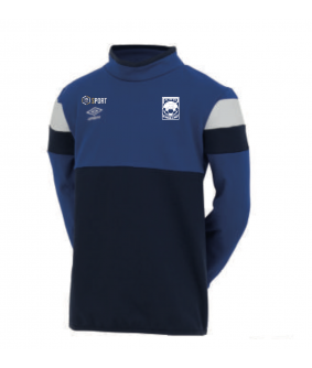 Sweat 1/2 Zip Royal officiel Umbro AS Saint Brice Courcelles