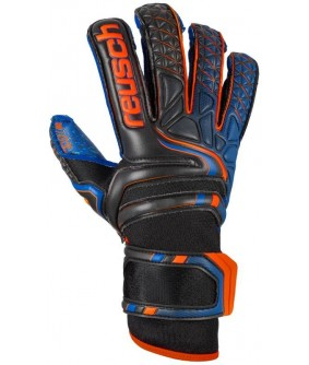 Gants gardien Futsal et football Attrakt bleu Pro G3 Fusion Evolution Reusch