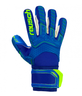 Gants gardien Futsal et football Attrakt bleu Freegel G3 Reusch