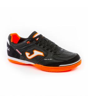 Chaussures pour adultes de Futsal et Foot à 5 Top Flex noires Indoor Joma