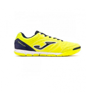 Chaussures JOMA de Futsal et de Foot à 5 Penalty 911 Lemon Navy Fluor Indoor