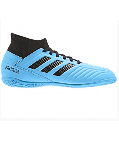 Chaussures junior de Futsal et Football bleues predator 19.3 IN adidas - FutsalStore