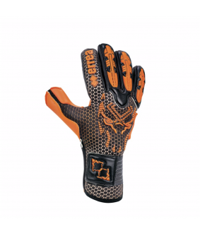 Gants de Football Competition Black Panther Fluo Errea