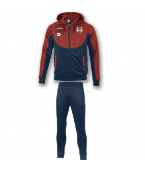 Survêtement à capuche essential bleu Marin-rouge Croatia Wandre Football