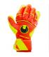 Gants de Football et Futsal orange Dynamic Impulse Absolut Grip Reflex