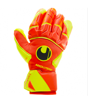 Gants de Football et Futsal orange Dynamic Impulse Absolut Grip Reflex