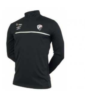 Sweat 1/2 Zip officiel Umbro AS Courtisols Estan