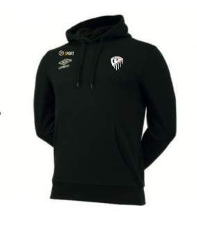 Sweat molleton a capuche Officiel d'entrainement Umbro AS Courtisols Estan