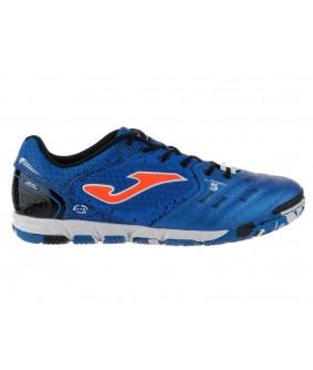Chaussures pour enfants de Futsal et Foot à 5 bleues Liga5 Joma