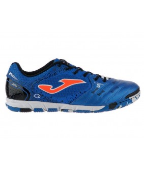 Chaussures pour adultes de Futsal et Foot à 5 bleues Liga5 Joma