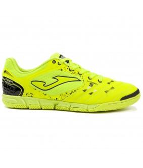Chaussures pour adultes de Futsal et de Foot à 5 jaune fluo Liga5 Joma